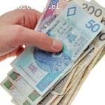 Pożyczka między poważną osobą w Polsce i jego otoczeniem
