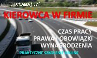 Kierowca w firmie - SPD SZKOLENIA - kurs online