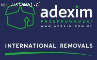 Przeprowadzki krajowe i międzynarodowe Adexim Warszawa