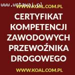 Kurs Katowice Certyfikat Kompetencji Zawodowych CPC, październik