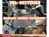 Naprawa,serwis rowerów, przeglądy i modernizacje