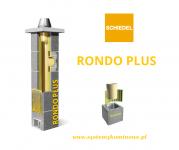 Komin Schiedel Rondo Plus - wszystkie długości i rodzaje.
