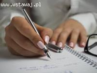 Pisanie wzorów prac - pomoc online
