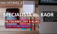 Certyfikowany kurs kadr online SPD SZKOLENIA