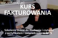 Fakturowanie -  kurs online