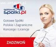Sprzedaż - Gotowe Spółki Polskie i Zagraniczne ze stażem