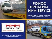 Doświadczone holowanie pojazdów w Poznaniu - MMM Service