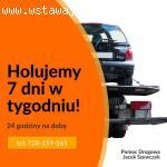Pomoc Drogowa Jacek Szewczyk - tanie holowanie pojazdów w Gd