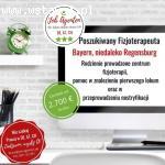 Fizjoterapeuto oferta pracy Regensburg