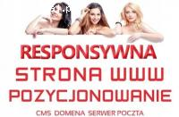 Strona internetowa -Tworzenie stron www DLA FIRM +host +domena +