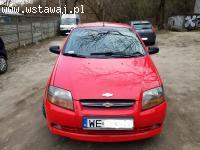 Chevrolet Aveo 2006r, silnik 1.2 benzyna