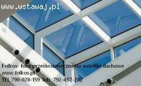 Folie przeciwsłoneczne na świetliki dachowe -Oklejanie szyb
