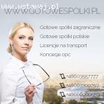 Sprzedaż spółek z o.o. z Licencją na spedycje i transport 603557