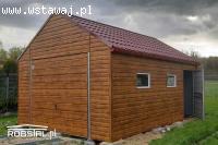 Garaż Drewnopodobny Panel Poziomy 3x5